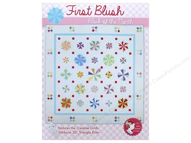 First Blush: Block of the Month Book