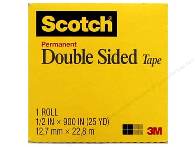scotch tape double sided refill 5 x 900 createforless. Black Bedroom Furniture Sets. Home Design Ideas