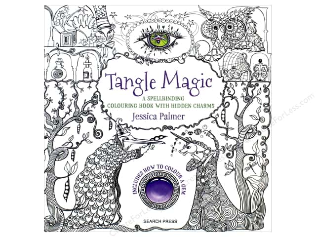 Tangle Magic Coloring Book by Jessica Palmer