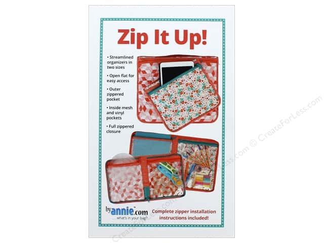 By Annie Zip It Up! Pattern