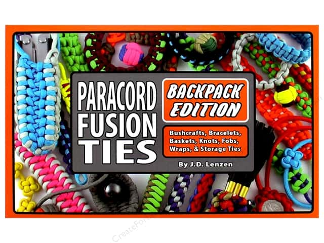 Paracord Fusion Ties Backpack Edition Book