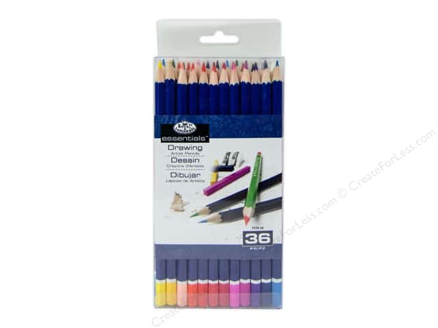 Royal Artist Essentials Set Colored Pencil 36pc