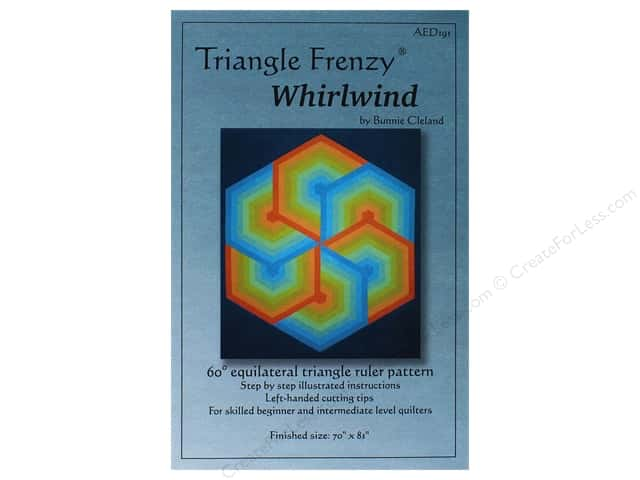 Triangle Frenzy Whirlwind Pattern