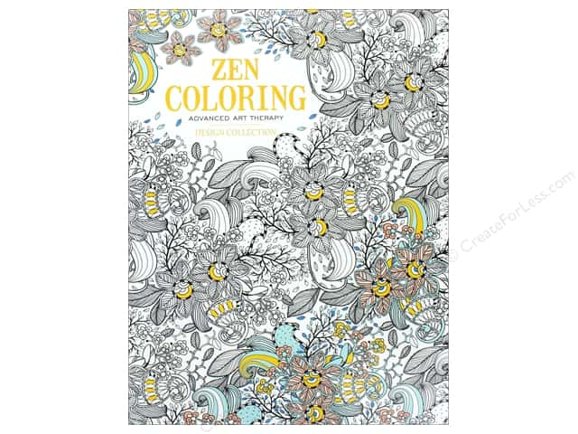 Zen Coloring Design Collection Book