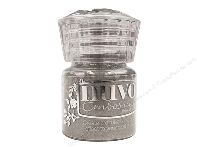 Nuvo Embossing Powder .7 oz. Classic Silver