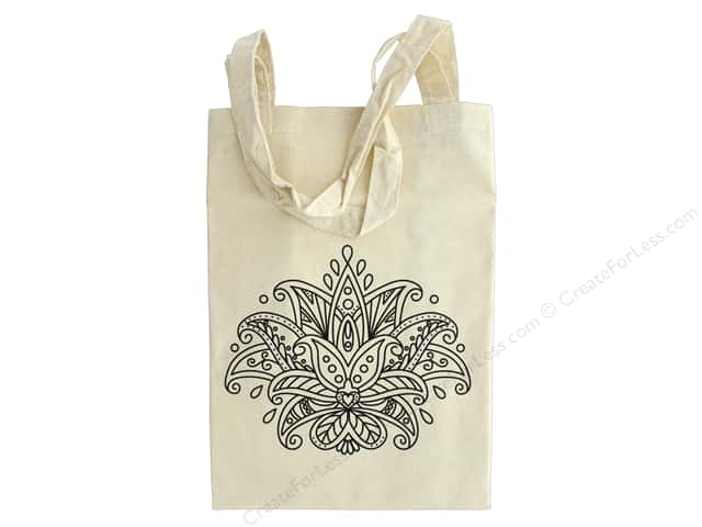 The Bead Giant Tote Bag Lotus