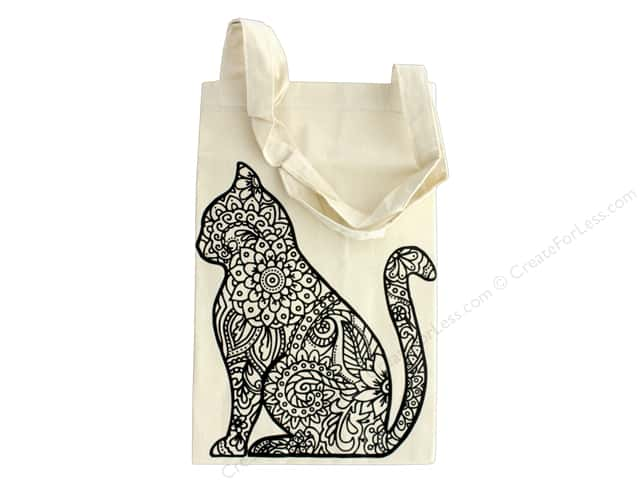 The Bead Giant Tote Bag Cat