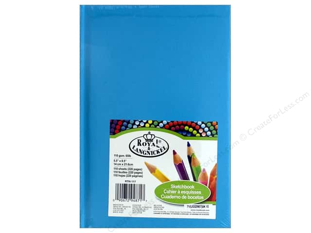 "Royal Artist Pad Sketchbook 5.5""x 8.5"" Blue"