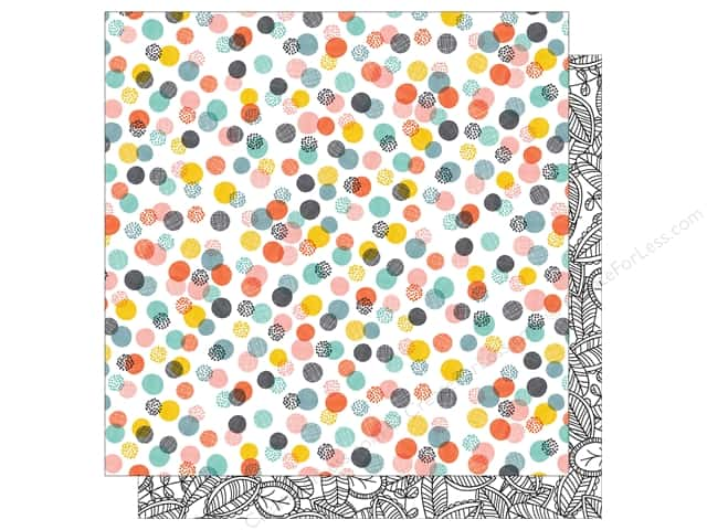 American Crafts 12 x 12 in. Paper Oh Happy Life Crazy Fun