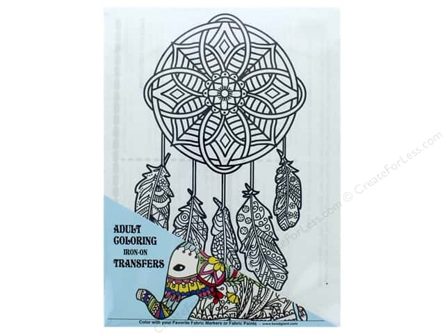 The Bead Giant Iron On Transfer Dreamcatcher