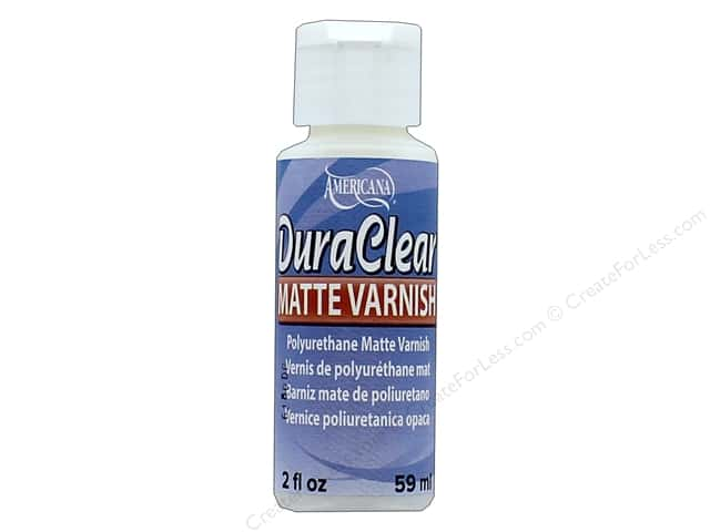 DecoArt DuraClear Varnish 2 oz. Matte