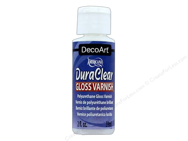 DecoArt DuraClear Varnish 2 oz. Gloss