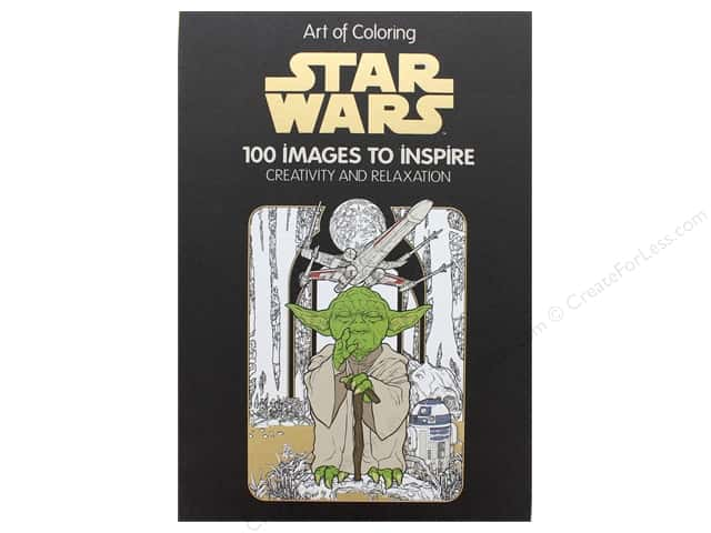 Disney Editions Star Wars 100 Images Coloring Book