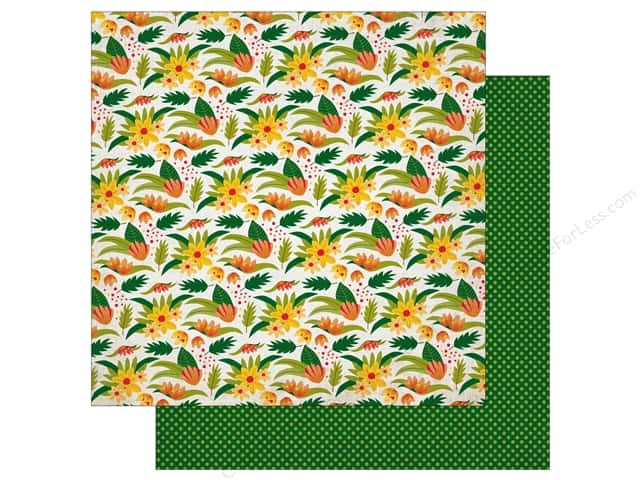 Echo Park 12 x 12 in. Paper Jungle Safari Collection Wilderness Floral (25 pieces)