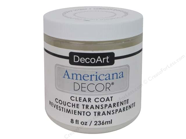 DecoArt Americana Decor Clear Coat 8oz