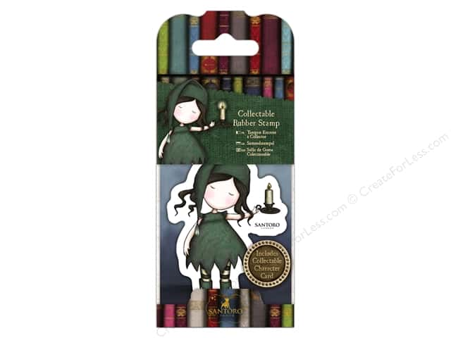 Docrafts Santoro Gorjuss Stamp No 34 Nightlight
