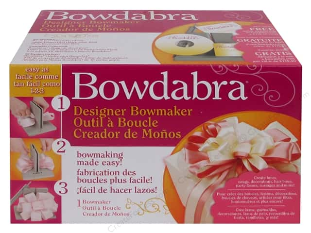 Darice Bowdabra Bow & Favor Maker