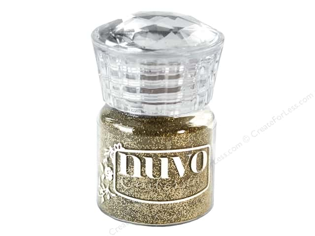 Nuvo Embossing Powder .7oz Glitter Gold Enchantment