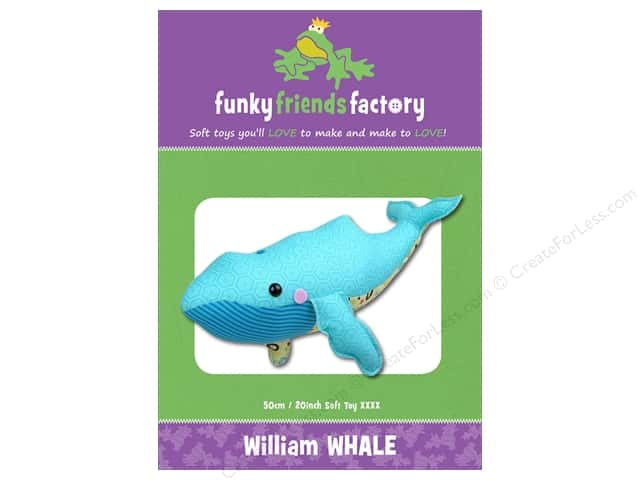 Funky Friends Factory William Whale Pattern
