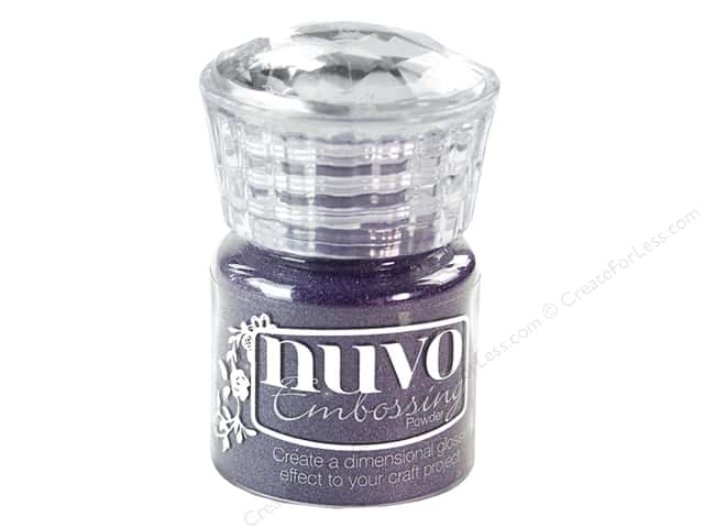 Nuvo Embossing Powder .7oz Purple Haze