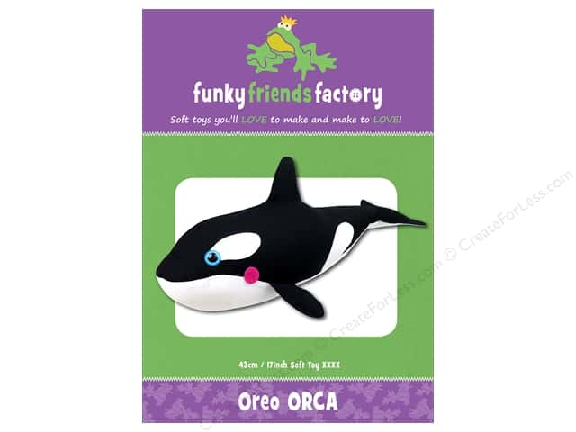 Funky Friends Factory Oreo Orca Pattern