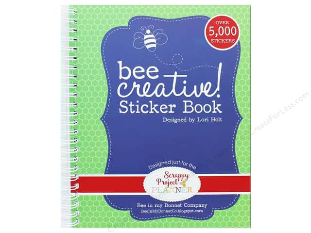 It's Sew Emma Scrappy Project Planner Sticker Book