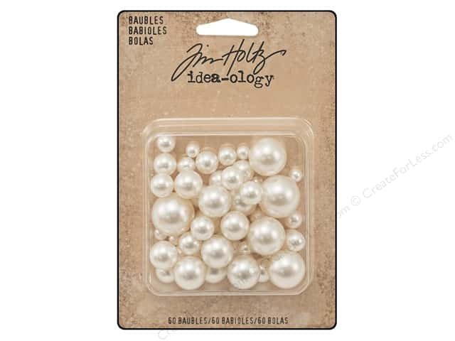 Tim Holtz Idea-ology Baubles