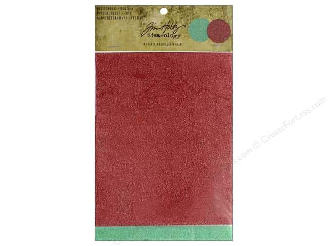 Tim Holtz Idea-ology Deco Sheets Holiday