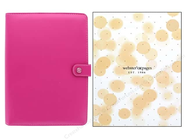 Webster's Pages Color Crush Planner Kit A5 Fuchsia Boxed