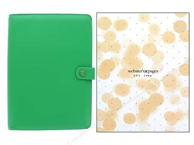 Webster's Pages Color Crush Planner Kit A5 Summer Green Boxed