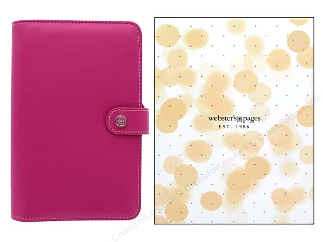 Webster's Pages Color Crush Planner Kit Personal Fuchsia Boxed