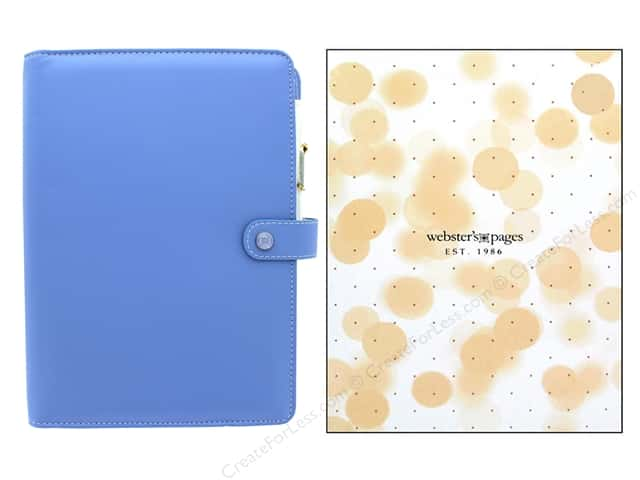 Webster's Pages Color Crush Planner A5 Periwinkle Boxed