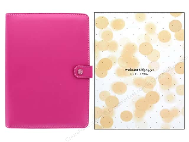 Webster's Pages Color Crush Planner A5 Fuchsia Boxed
