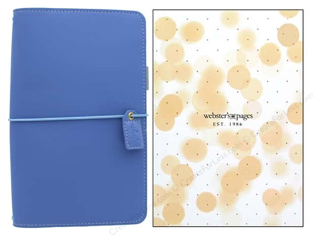 Webster's Pages Color Crush Planner Traveler Periwinkle Boxed