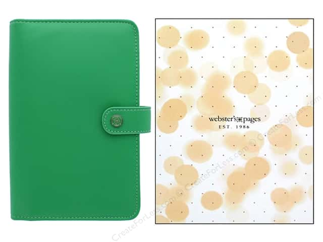Webster's Pages Color Crush Planner Personal Summer Green Boxed