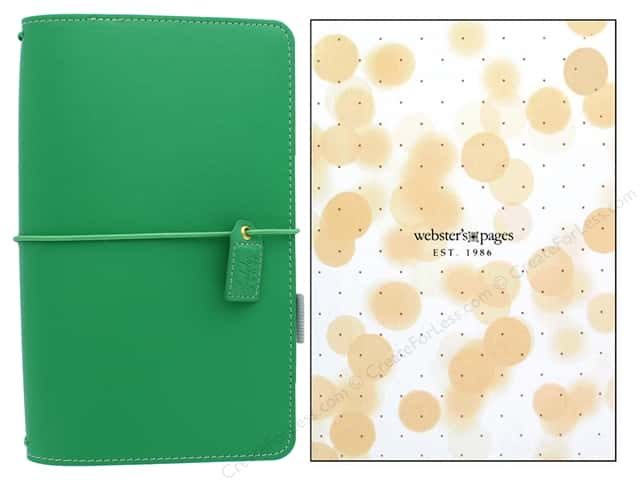 Webster's Pages Color Crush Planner Traveler Summer Green Boxed