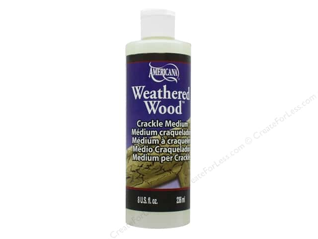 DecoArt Weathered Wood Crackle Medium 8 oz.