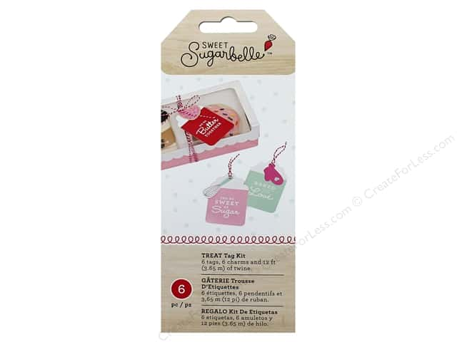 American Crafts Collection Sweet Sugarbelle Gift Tag Kit Baked With Love