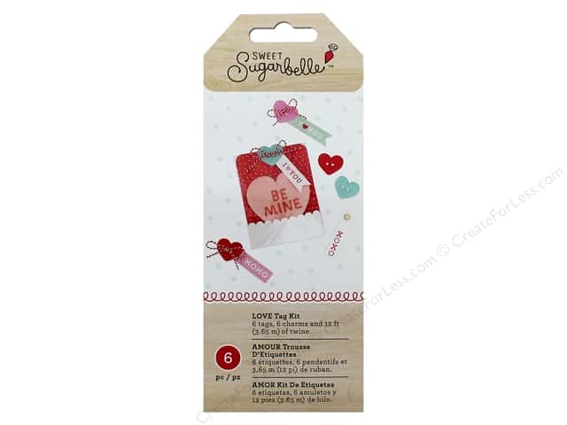 American Crafts Collection Sweet Sugarbelle Gift Tag Kit Lots Of Love