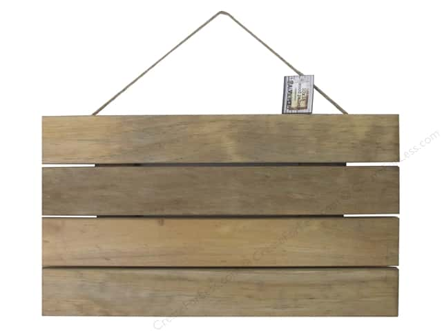 "BCI Crafts Salvaged Wood Pallet 10""x 18"" Weathered"