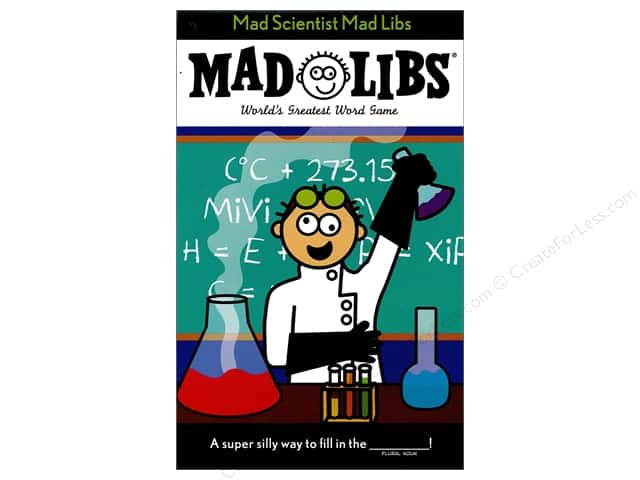 Mad Scientist Mad Libs Book