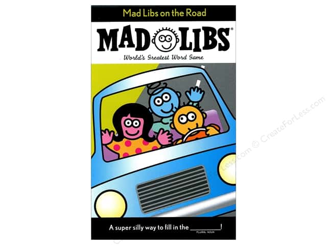 Mad Libs On The Road Mad Libs Book