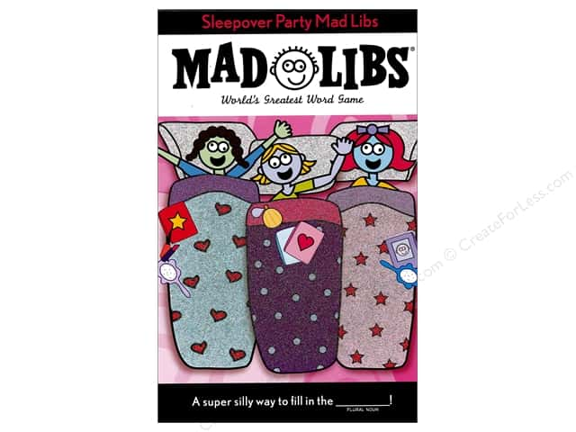 Sleepover Party Mad Libs Book