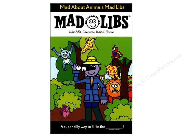 Mad About Animals Mad Libs Book