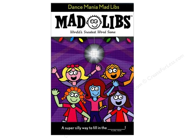Dance Mania Mad Libs Book