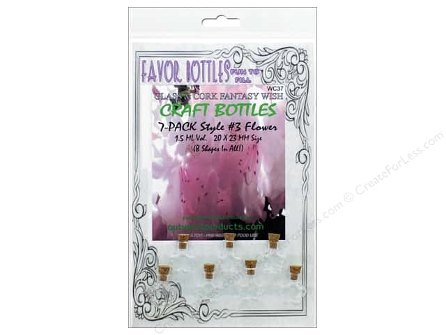 Outwest Products Wish Bottle 1.5ml Flower 7pc