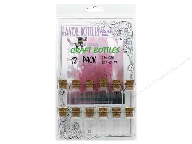 Outwest Products Bitty Bottle 7ml 20x40mm 12pc