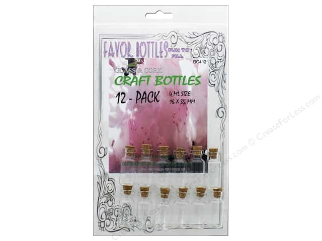 Outwest Products Bitty Bottle 4ml 16x35mm 12pc