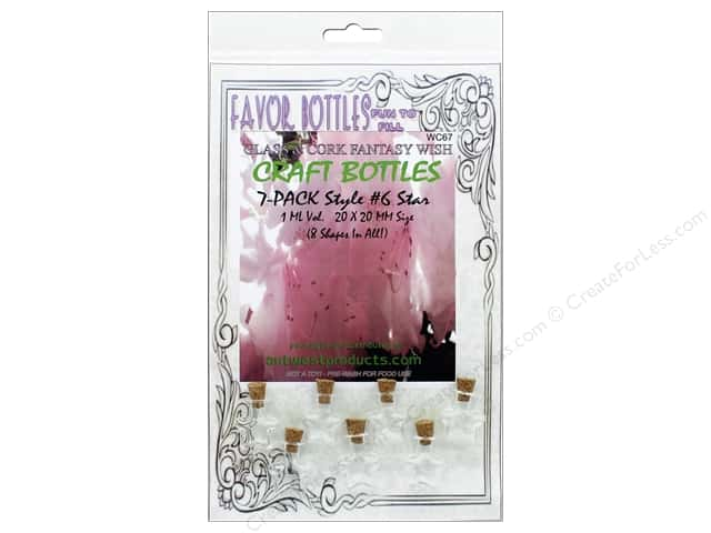 Outwest Products Wish Bottle 1ml Star 7pc