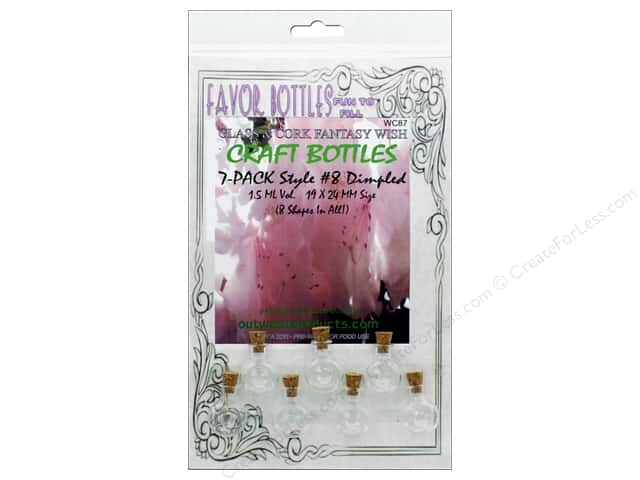 Outwest Products Wish Bottle 1.5ml Donut 7pc